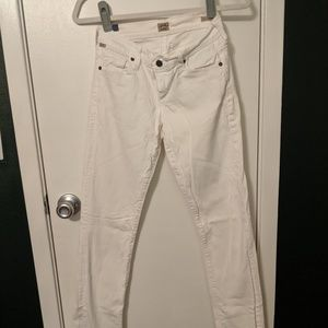 Citizens of Humanity Ava Straight Leg White Jean